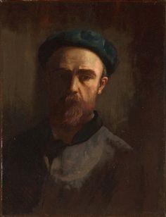 odilon redon breton | Portrait de l'artiste par lui-même, 1890