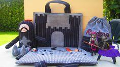 fantastisch recykleerproject: ridderspeelgoed uit 2 herenhemden