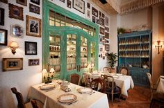 Mari Vanna: Интерьер - ФОТО Lodge Style, Table Settings, Gallery Wall, Home Decor, Decoration Home, Chalet Style, Room Decor, Place Settings, Home Interior Design