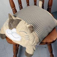 Almohadón de gato