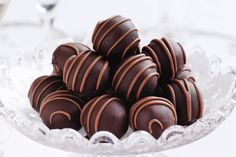 You'll go nuts for the peanut butter in these memorable chocolate truffles!