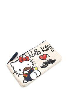 hello kitty mustache ♥