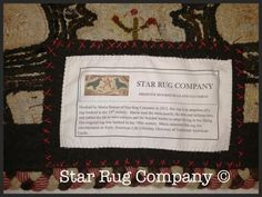 Star Rug Company: Labels