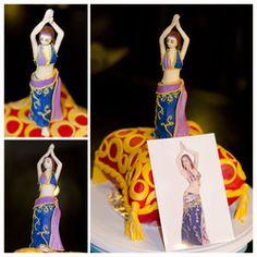 Cake inspired in belly dancer