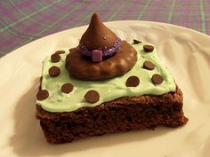 My Creative Stirrings: Witch Hat Brownies