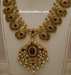 Jaipur Design Uncut Diamond Necklace Uncut diamond Jaipur and
