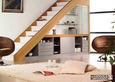 Dix solutions pour aménager l\'espace sous l\'escalier | Salons, Stair ...