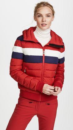 Down Ski Jacket, Winter Suit, Winter Mode, Puffy Jacket, China Fashion, Ski Fashion, Cool Outfits, Jackets For Women, Winter Jackets