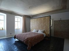 We were approached by a pair of globetrotters on their second visit of Znojmo, the city where our studio is based.After few days spent in Znojmo,. Architecture, The Originals, Bed, Building, Furniture, Home Decor, Regional, Full Bath, Living Room