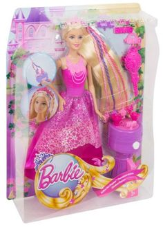 Prinzessinnen Kutsche Pferd Licht Mattel Barbie Puppe Blond SCHWARZE Schuhe