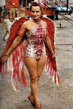 Circus Showgirls of the '40s and '50s