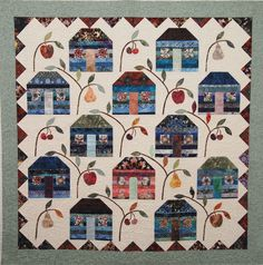 Our House is PINK! by Lori L. Brewster as seen at The Quilt Show