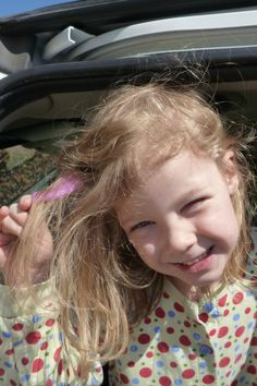 How to get gum out of kids hair- I have a feeling I am going to need this at some point