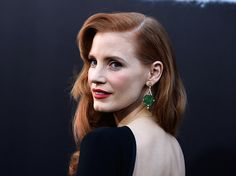 Jessica Chastain attends the premiere of Paramount Pictures' 'Interstellar' at TCL Chinese Theatre IMAX on October 26, 2014 in Hollywood, California