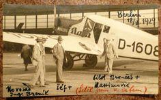 T.BAŤA   Baťovo letadlo, BERLÍN 18.8.1929 !!! ORIG