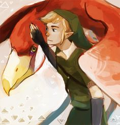 Link and his Loftwing