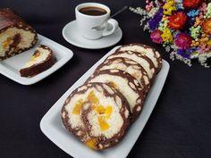 Rulada de Biscuiti cu Mascaporne Sweets Recipes, Easy Desserts, Cake Recipes, Snack Recipes, Snacks, Romanian Desserts, Romanian Food, Pie Dessert, How Sweet Eats