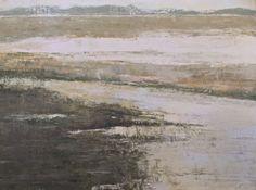 Marsh, 36x48, oil and wax on board