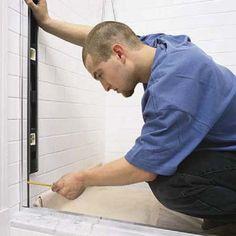 installing shower doors   Door Designs Plans