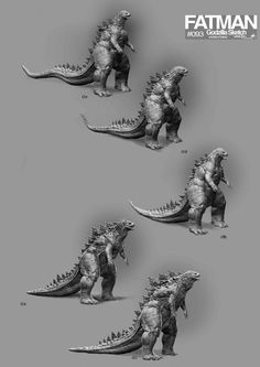 Early Godzilla 2014 Concept Artwork | Godzilla 2014 Movie News
