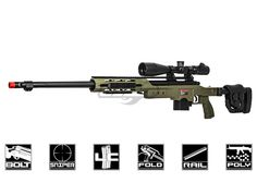Well MB4411G Bolt Action Spring Sniper Rifle Airsoft Gun ( Olive Drab )