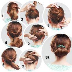Znalezione obrazy dla zapytania hair loop tool hairstyles