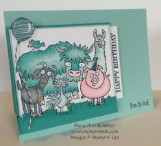 From the Herd - FMS166, PPA231 by stampinmak - Cards and Paper Crafts at Splitcoaststampers