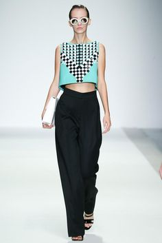 Holly Fulton Spring 2015 Ready-to-Wear - Collection - Gallery - Look 14 - Style.com #ZenniFashionChallenge