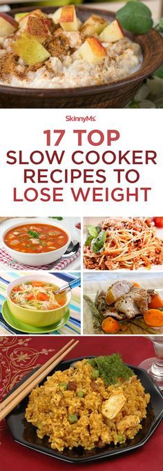 17 Top Slow Cooker Recipes to Lose Weight #weightlossfast