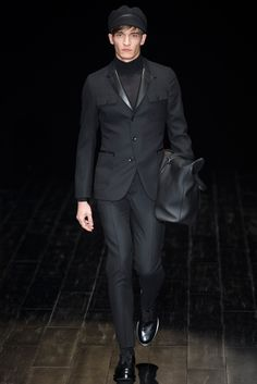Gucci Fall 2014 Menswear - Collection - Gallery - Look 1 - Style.com