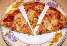 Gluténmentes pizzatészta tej és tojás nélkül