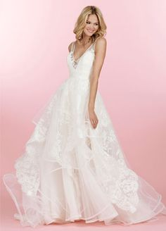 Bridal Gowns, Wedding Dresses by Hayley Paige - Style HP6458