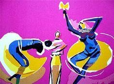 Caybé - Galeria de Gravura - Dança dos Deuses