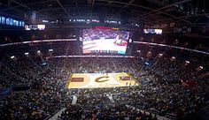 Quicken Loans Arena From the Inside Cleveland Basketball, Basketball Court, Quicken Loans Arena, School
