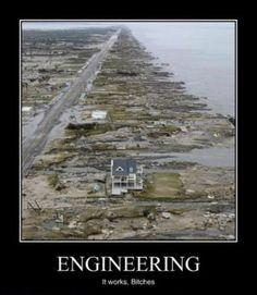 Demotivational Poster - The wonders of Engineering