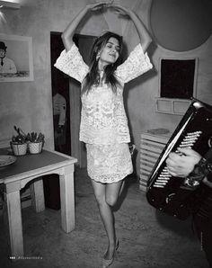 puglia in love: josephine skriver and alexander michael deleon by dan martensen for elle italia july 2014