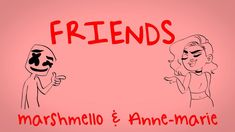 Marshmello & Anne-Marie - FRIENDS (Lyric Video) *OFFICIAL FRIENDZONE ANTHEM* - YouTube