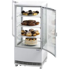 Chladiaca vitrína DUAL French Door Refrigerator, French Doors, Kitchen Appliances, Home, Glass Display Case, Gastronomia, Cooking, Electric Power, Interior Lighting