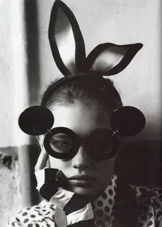 "c526536d82de Jeremy Scott by Linda Farrow sunglasses ""To Russia With Love"" Vogue UK"