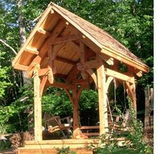 Roofing options for DIY home renovation Timber Roof, Timber Frame Homes, Timber Frames, Gazebo, Pergola, Diy Roofing, Roofing Options, Outdoor Oven, Building A New Home