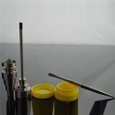 free shipping, $14.71 - 19.59 /set:buy wholesale  1x universal domeless titanium nail 1x titanium nail carb cap 1x dabber tool 1x silicone jar dab container oil concentrate kit bong tool set on chinatrade2011's Store from DHgate.com, get worldwide delivery and buyer protection service.
