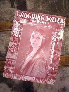 Vintage Sheet Music / Laughing Water / 1919 by Lauralous on Etsy, $15.00