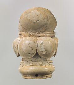 Furniture element METROPOLITAN MUSEUM  Period:     Neo-Assyrian Date:     ca. 9th–8th century B.C. Geography:     Syria, probably from Arslan Tash (ancient Hadatu) Culture:     Assyrian Medium:     Ivory