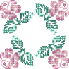 Fairway Needlecraft Roses In Four Corners Quilt Blocks Stamped Cross Stitch Kit. These blocks create a quilt that is a beautiful show of skill and needlework. Cross Stitch Rose, Cross Stitch Borders, Cross Stitch Flowers, Cross Stitch Kits, Cross Stitch Charts, Cross Stitch Designs, Cross Stitching, Cross Stitch Embroidery, Cross Stitch Patterns