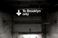Subway to Brooklyn.