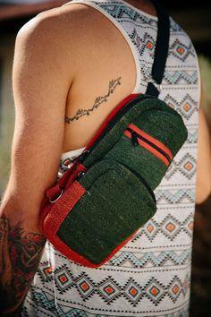 675e3b285 100% Hemp, Small Shoulder Backpack Fringe Purse, Fringe Bags, Earthbound  Trading Company