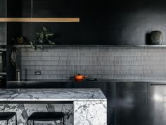 A Discrete Layered Entity Hampden Road House By Archier Hobart Tas Australia Image 17 Latest Kitchen Designs, Local Architects, Interior Design Kitchen, The Locals, Interior Styling, Interior Architecture, House Styles, Projects, Kitchen Inspiration