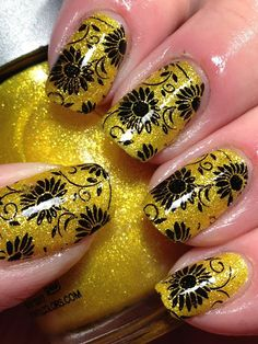Canadian Nail Fanatic: Comparing Yellow Sand/Texture Polishes