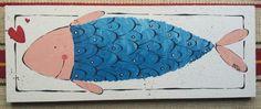 Pesce innamorato  Cm 15x40