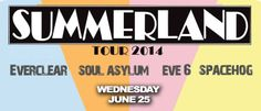 Summerland Tour 2014!!!